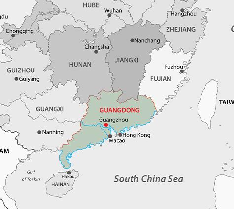 IBMM China Map